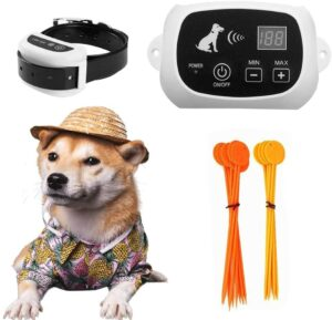 FOCUSER Electric Wireless Fence for Dogs.