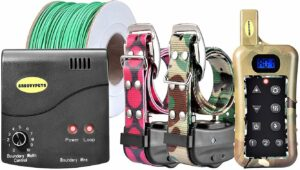 Groovypets Fence & Remote Dog Trainer System.