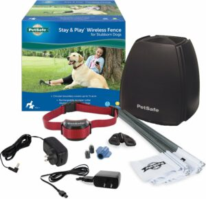PetSafe Stay & Play Wireless Fence for Stubborn Dogs.