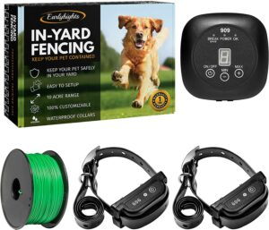 Earlyhights Underground Electric Outdoor Dog Containment Fence System.