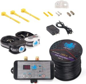 OKPET Electronic Pet Wired Dog Fence System.