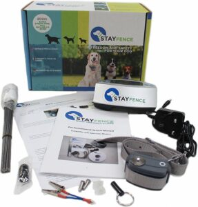 StayFence In-Ground Pet Containment System.