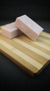 Bar soap.