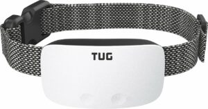 TUG Rechargeable Waterproof Dog Bark Collar.