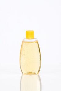 Bottle of baby shampoo.